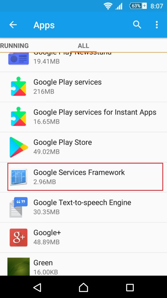 google play services for instant apps